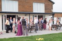 Wedding Picture - Outside Terrace