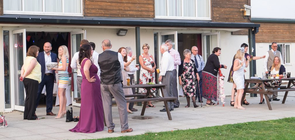 Wedding Venue Hire - Outside Terrace