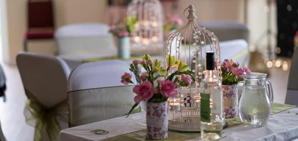 Wedding Venue Hire - Table Decorations 1