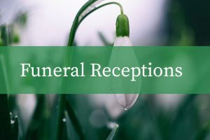 funeral reception button image