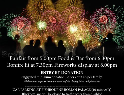 Fishbourne Fireworks – 2nd November