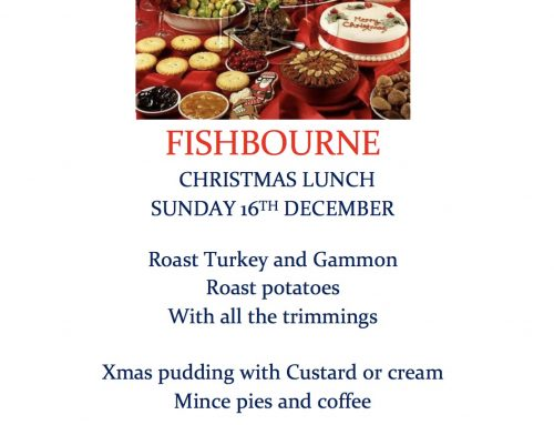 Christmas Lunch – 16th December