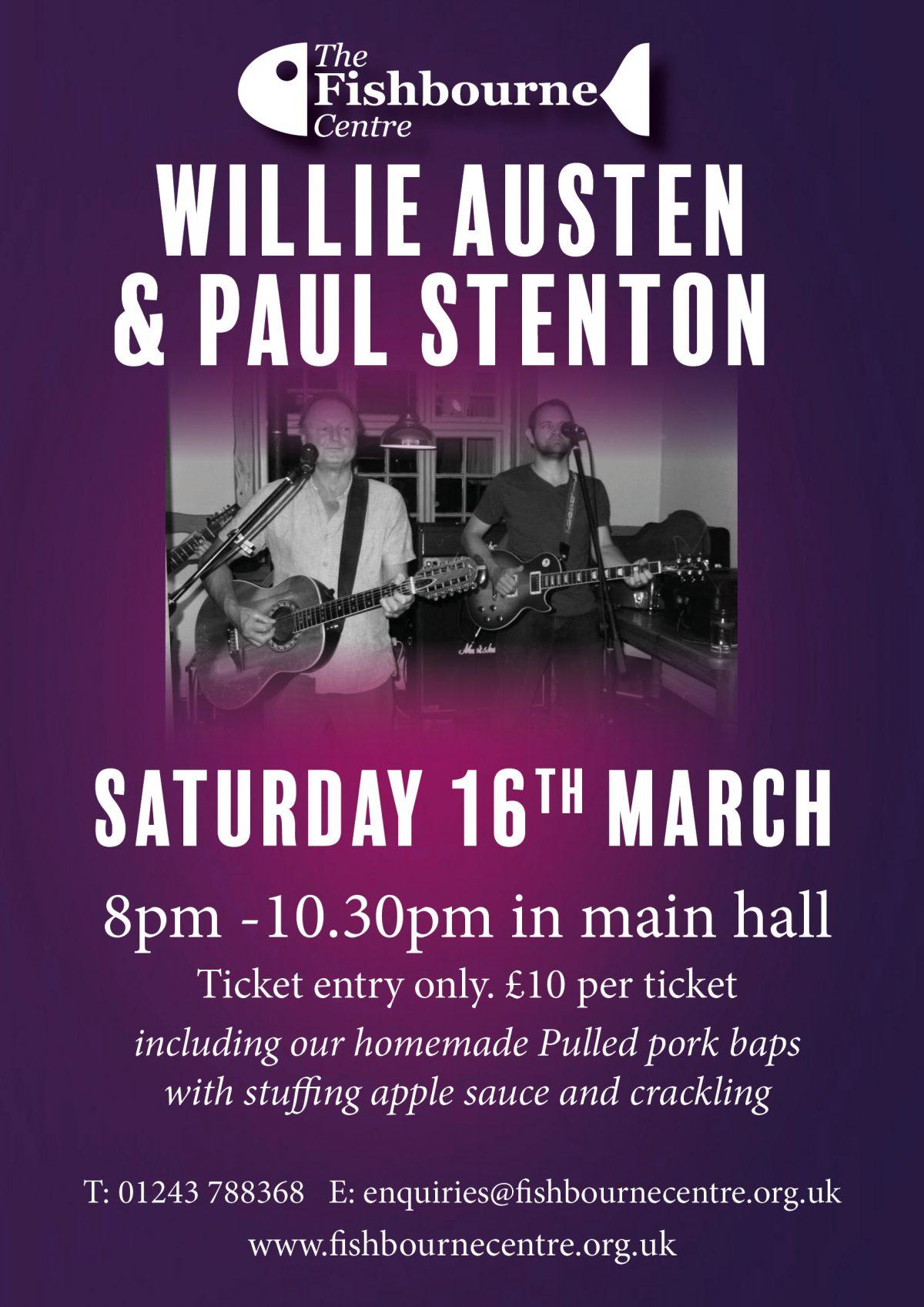 willie Austen concert