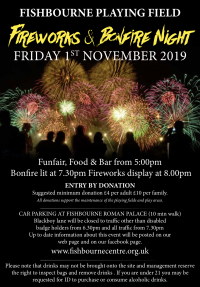 bonfire and fireworks night 2019