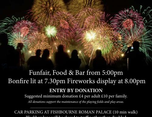 1st November – Fireworks & Bonfire Night