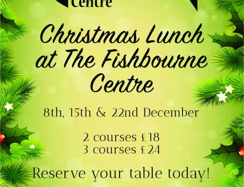 Christmas Lunch – 8th, 15th and 22nd December