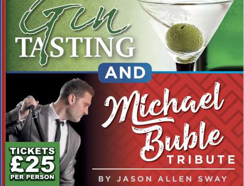Gin tasting and Michael Buble Evening