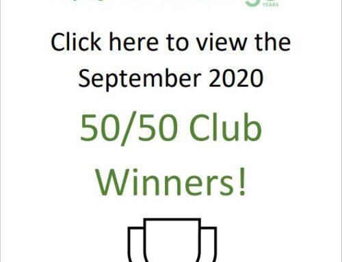 50/50 Club November Winners