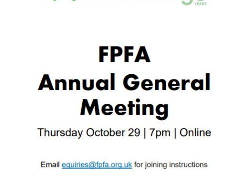Join our online AGM – Thursday 29th October at 19.00
